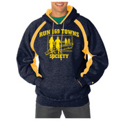 Navy and Gold Hoodie