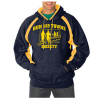 Navy and Gold Hoodie Thumbnail