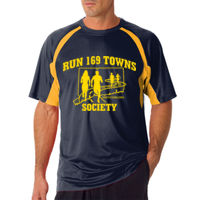 Mens Navy and Gold T Thumbnail